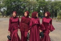 baju bridesmaid muslimah 17