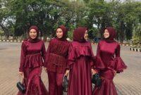 baju bridesmaid muslimah 17 4