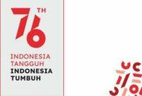Twibbon HUT RI Ke 76 Dirgahayu Indonesia tahun 2021 (10)