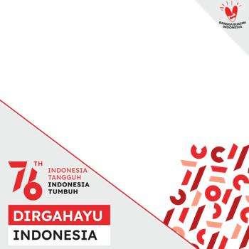 Twibbon HUT RI Ke 76 Dirgahayu Indonesia tahun 2021 (5)