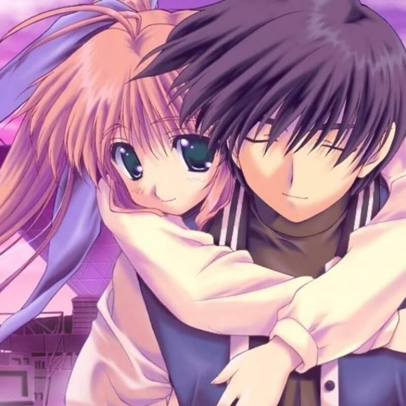 gambar anime pasangan keren